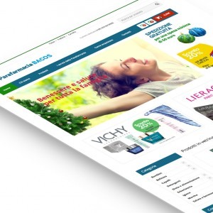 e-commerce Parafarmacia Bacos